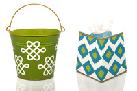 Jayes Studio Pail and Tissue Box